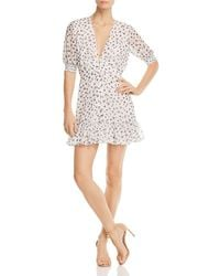 The East Order - Mabel Floral-print Mini Dress - Lyst
