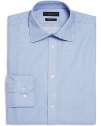 Bloomingdale's - Textured Micro Check Regular Fit Dress Shirt - Lyst
