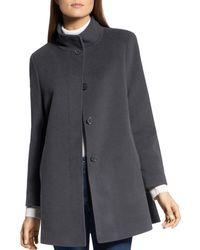 Basler Wool - Blend A - Line Coat - Grey