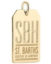 Jet Set Candy | Sbh St. Barts Luggage Tag Charm | Lyst