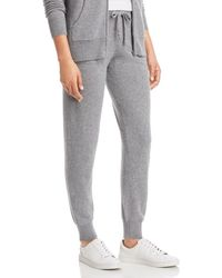 C By Bloomingdale's Cashmere Jogger Trousers - Black