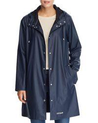 Stutterheim Mosebacke Lightweight Raincoat - Blue