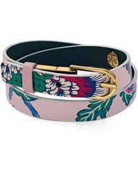 Tory Burch - Happy Times Reversible Wrap Bracelet - Lyst