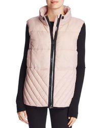 Marc New York Performance Packable Hooded Puffer Vest - Multicolour