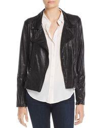 Lyssé - Mission Faux-leather Moto Jacket - Lyst