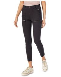 Joie High - Rise Park Skinny Trousers - Blue