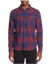 Superdry - Milled Flannel Long Sleeve Button-down Shirt - Lyst