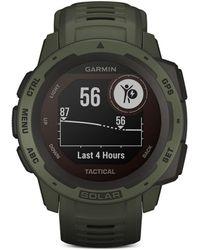 Garmin - Instinct Solar Tactical Edition Smart Watch - Lyst