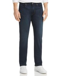 PAIGE - Normandie Straight Fit Jeans In Russ - Lyst