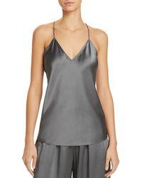 Theory Silk Camisole Top - Grey