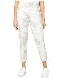 Sanctuary - Terrain Cropped Camouflage-print Cargo Pants - Lyst