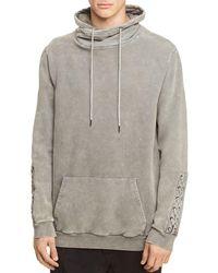 NANA JUDY Pisa Funnel Neck Sweatshirt - Grey
