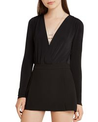 BCBGeneration - Open-back Bodysuit - Lyst