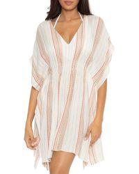Becca Radiance Striped Tunic Swim Cover - Up - Multicolour