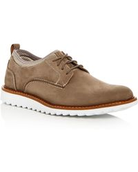 G.H.BASS Men's Dirty Buck 2.0 Nubuck Leather Oxfords - Grey