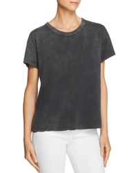 Splendid - Cotton Wash-out Tee - Lyst