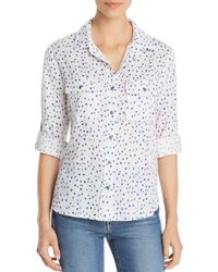 Billy T Roll - Tab Button - Down Shirt - White