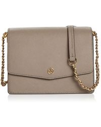 f9fb6b4e43a Lyst - Tory Burch Shoulder Bag Robinson Adjustable Chain Mini in Blue