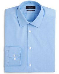 Bloomingdale's - End - On - End Solid Dress Shirt - Regular Fit - Lyst