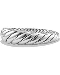 David Yurman - Pure Form Cable Bracelet In Sterling Silver - Lyst