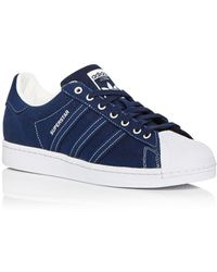 adidas Superstar Low Top Trainers - Blue