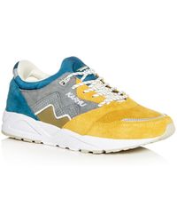 Karhu - Men's Aria Suede Lace Up Sneakers - Lyst