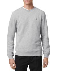 AllSaints Raven Sweatshirt - Grey