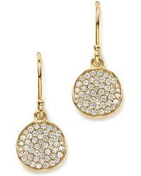 Ippolita - 18k Gold Stardust Flower Earrings With Diamonds - Lyst
