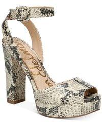 Sam Edelman Women's Kath Platform Sandals - Multicolor
