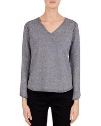Gerard Darel - Cécile V-neck Sweater - Lyst