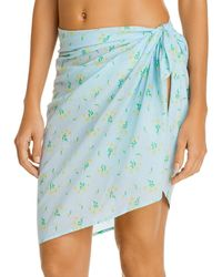 Faithfull The Brand Mini Pareo Swim Cover - Up - Blue
