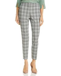 BOSS Tacnes Glen Plaid Slim - Leg Trousers - Multicolour