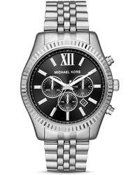Michael Kors Analogue Quartz Watch With Stainless Steel Strap Mk8602 - Metallic