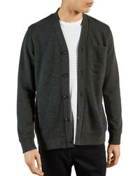 Ted Baker Jersey Cardigan - Gray