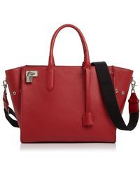 Zadig & Voltaire Muse Leather Satchel - Red