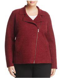 Eileen Fisher   Merino Wool Moto Jacket   Lyst