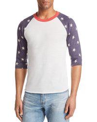 Alternative Apparel - Star Baseball Shirt - Lyst