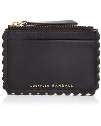 Loeffler Randall - Nina Leather Card Case - Lyst