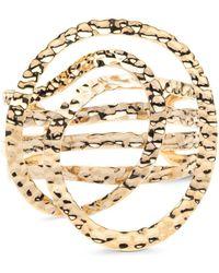 Alexis Bittar - Hammered Coil Cuff Bracelet - Lyst