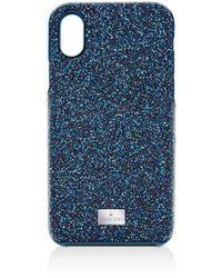 Swarovski High Iphone Case - Blue