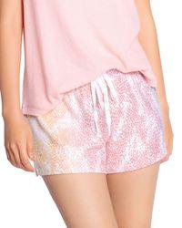 Pj Salvage Grad Games Drawstring Shorts - Pink