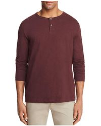 Theory - Gaskell Henley Tee - Lyst