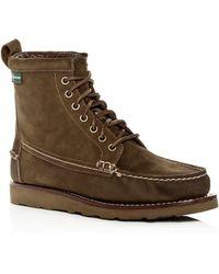 Eastland 1955 Edition Men's Sherman 1955 Nubuck Leather Boots - Green