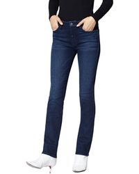 Sanctuary - Social High-rise Skinny Ankle Jeans In Stokholm Blue - Lyst