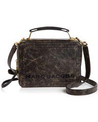 Marc Jacobs - The Box Medium Leather Crossbody - Lyst