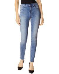 J Brand Maria High - Rise Skinny Jeans In Vega - Blue