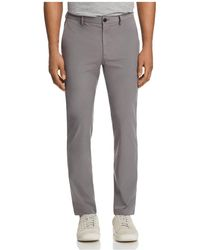 Theory - Zaine Active Slim Straight Fit Pants - Lyst