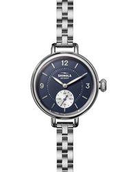 Shinola The Birdy Subsecond Watch - Metallic