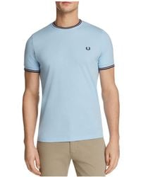 Fred Perry - Twin Tipped Short Sleeve Tee - Lyst
