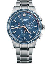 Victorinox Alliance Sport Blue Dial Chronograph